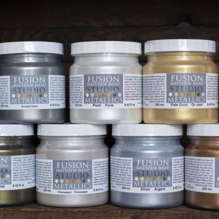 Matthew Mead Studio Metallics - Fusion Mineral Paint