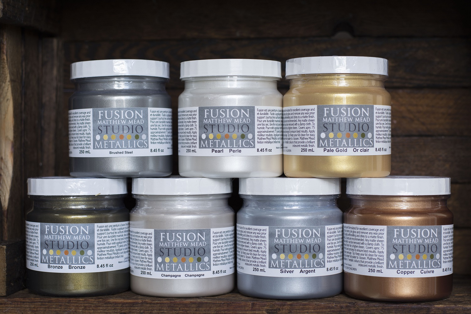 Matthew Mead Studio Metallics   Fusion Mineral Paint