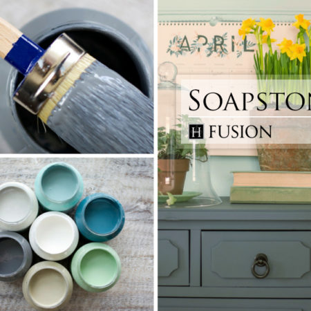 Dusty Boot Designs || Fusion Mineral Paint - Soapstone